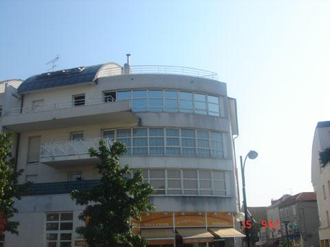 Vitres bureau fumées et teinte de protection solaire bâtiment à Vendôme(41)