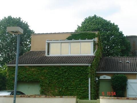 Vitres bureau fumées et teinte de protection solaire bâtiment à Vineuil(41)